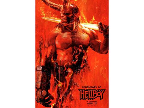 Hellboy 2019 movie poster copy