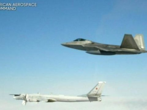cbsn fusion us fighter jets intercept russian bombers norad alaskan coast thumbnail 1855241 640x360