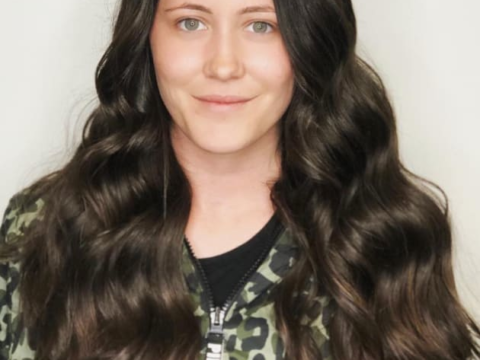 jenelle and her hair