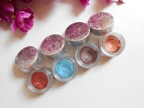Lotus Makeup XXV Gel Eye Shadow Aqua Review