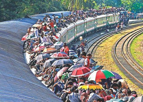 train roof travel