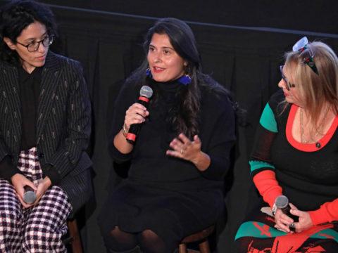 Ariel Wengroff Sharmeen Obaid Chinoy and Laura Karpman