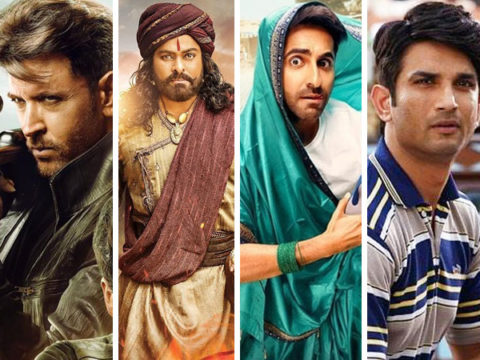 BREAKING War wins the exhibition battle over Sye Raa Narasimha Reddy Dream Girl and Chhichhore are the casualties