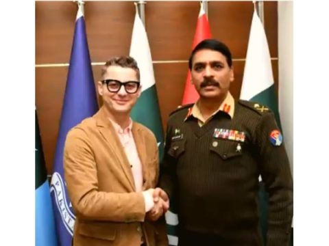 Akcent meets DG ISPR for a cup of tea yas