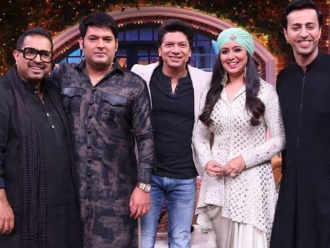 The Kapil Sharma Show preview Shankar Mahadevan Shaan Harshdeep Kaur 759