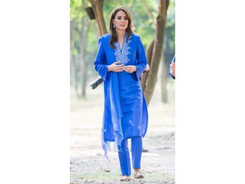 Kate Middleton Wearing Maheen Khan copy