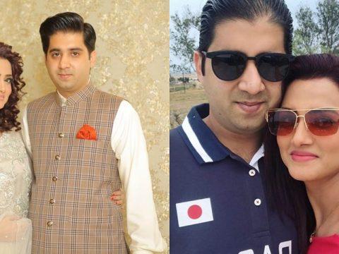 Kiran Tabeir Celebrating Wedding Anniversary With Ali Hamza Safdar 35