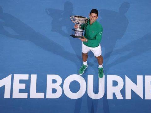 Novak Djokovic Australia Open