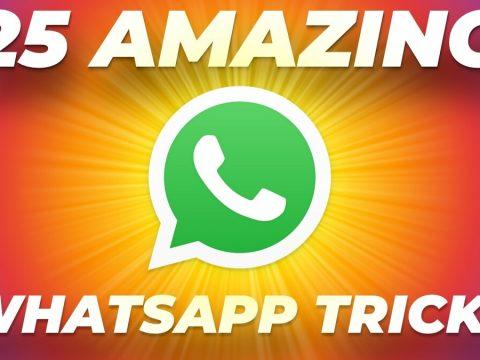 WhatsApp 25 tips tricks 1587191391310