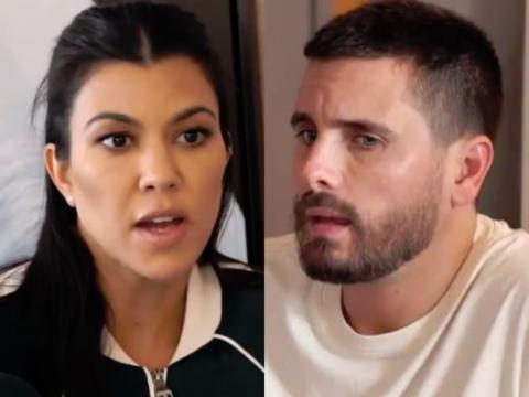 kourtney kardashian scott disick split april 2019