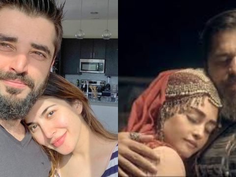 Hamza Ali Abbasi Naimal Khawar Compared With Ertugrul And Halime 13