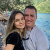 alla fedoruk with husband
