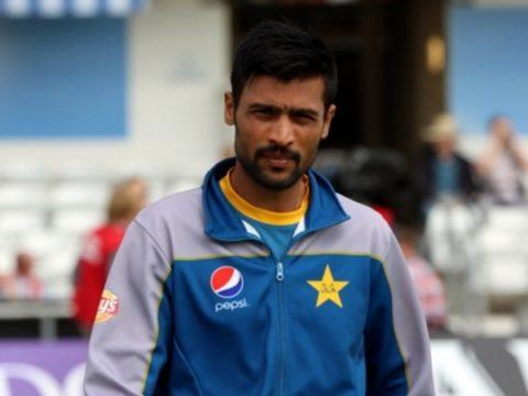 Amir in England