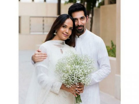 Pictures Of Aamina Sheikh With Husband From Their Wedding 5 1024x1024 resize
