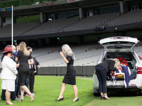 Dean Jones funeral
