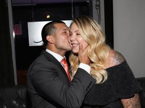 kailyn lowry and javi marroquin kiss