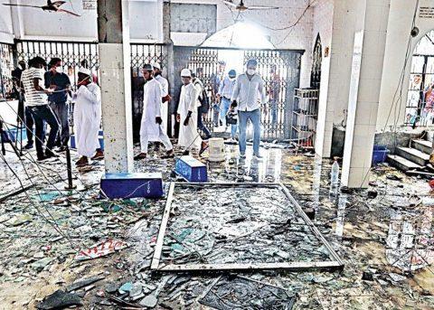 narayanganj blast mosque