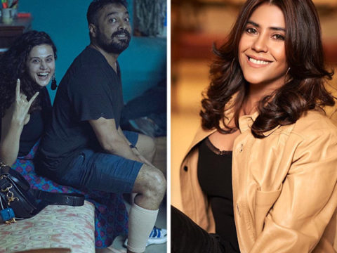 Anurag Kashyap and Taapsee Pannu reunite for Dobaaraa to be produced by Ekta Kapoor's Cult Movies
