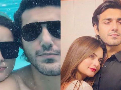 Minal Khan and Ahsan Moshin