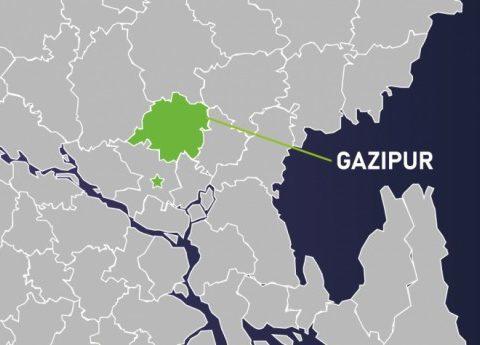 gazipur map 3