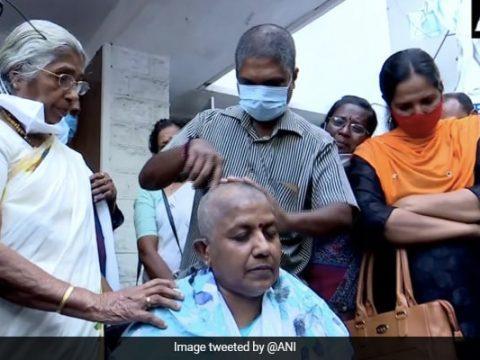 tsu6qigc kerala congress womens unit chief shaves head 650 625x300 14 March 21