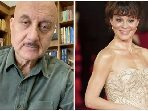 Anupam Kher mounrs Harry Potter actor Helen McCrory demise All deaths are saddening tragic