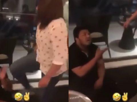 man caught cheating