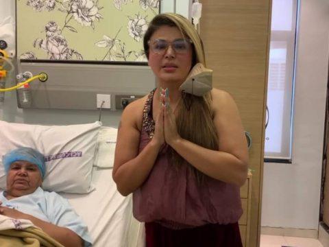 rakhi sawant mom salman khan