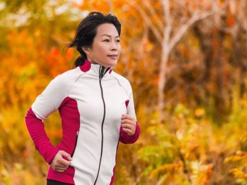 woman running outdoors 768
