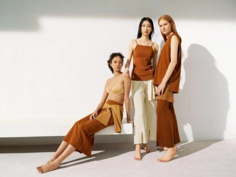 UNIQLO and Mame Kurogouchi Innerwear Collaboration