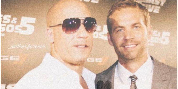 Vin Diesel Paul Walker Fast and Furious 9 IG 1200