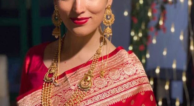 Yami Gautam looks ravishing in red saree as a new bride after marrying Aditya Dhar 3