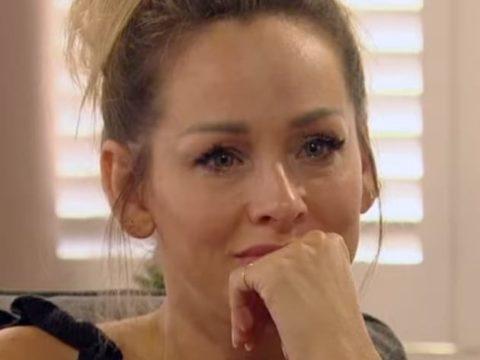 clare crawley gets emotional