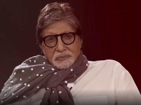 Amitabh Bachchan shares a video as he recites a poem titled Chehre written by one of his Ef watch 1200