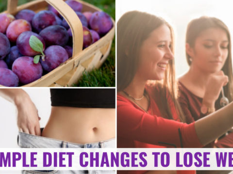 Facebook Collage — Diet Changes Lose Weight Faster