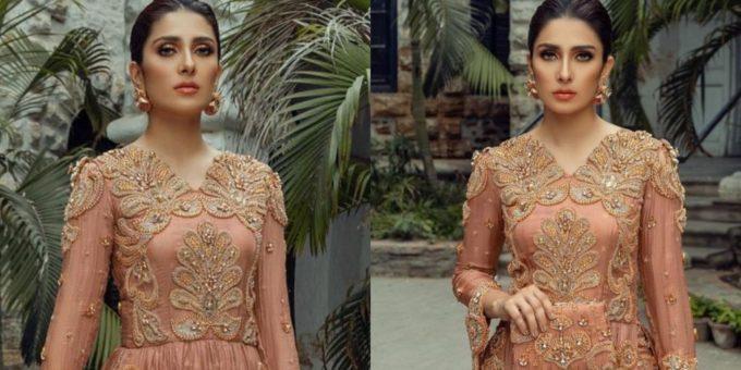 Komal Chawla Couture Formal Wear Featuring Ayeza Khan 1 scaled