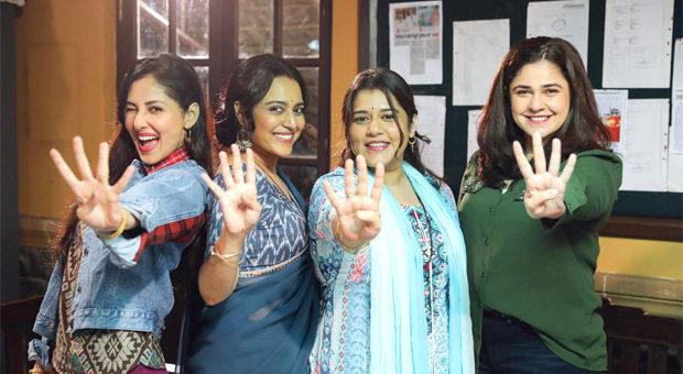 Swara Bhasker Shikha Talsania Meher Vij and Pooja Chopra resume shoot of Jahaan Chaar Yaar