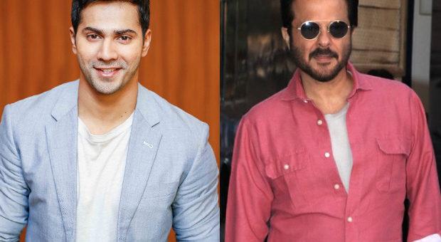 Varun Dhawan and Anil Kapoor shoot a party song for Jug Jugg Jeeyo