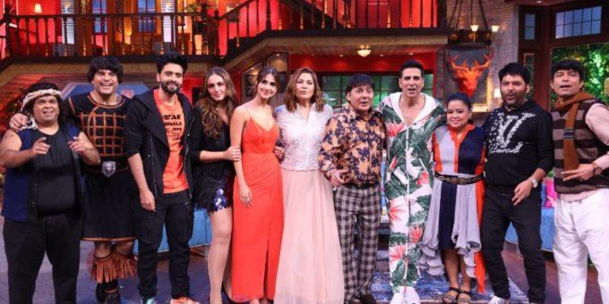 the kapil sharma show bellbottom actors