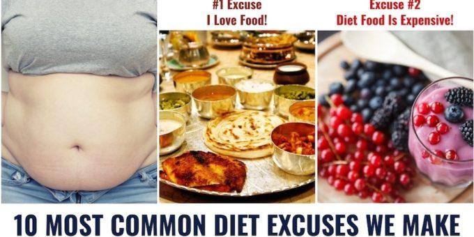 Diet Excuses we make