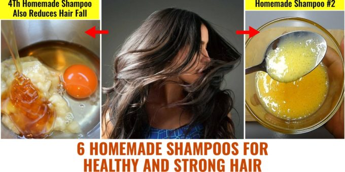Facebook Collage — Homemade Shampoos For Healthy Hair