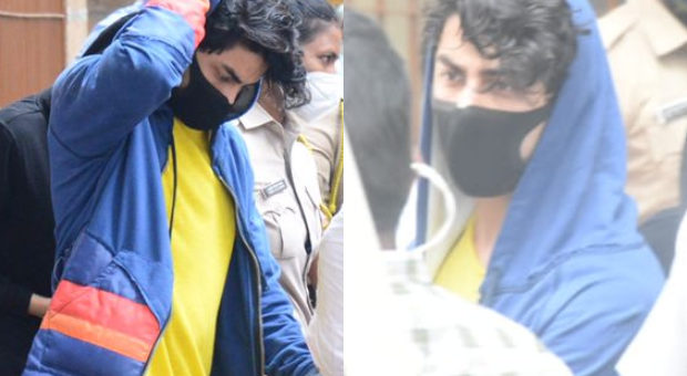 Shah Rukh Khans son Aryan Khan leaves for medical examination after his arrest in drugs case see photos