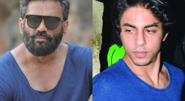 Suniel Shetty says give that child a breather as Shah Rukh Khans son Aryan Khan gets arrested in drugs case 1