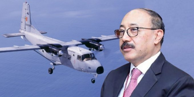 e2516f13 23da0f3c indian foreign secretary plane 1 850x460 acf cropped